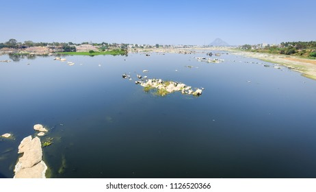 Bhavani River - Bhavani is a major river in Tamil Nadu, India. It is the second longest river in Tamil Nadu and a major tributary of the Kaveri River. A view from Salem-Kochi highway, mukoodal, Erode.