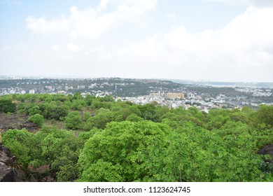Bhopal June 2018 view of bhopal city from Manuabhan Tekri