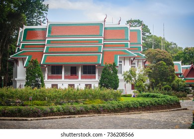 Bhubing Rajanives Palace, the royal winter residence in Chiang Mai where the Royal family stays during seasonal visits to the people in the northern part of Thailand.