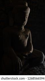 Bhudda statue,Mrauk U-Myanmar