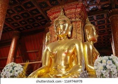 Bhudda in Wat Phumin, Nan Thailand