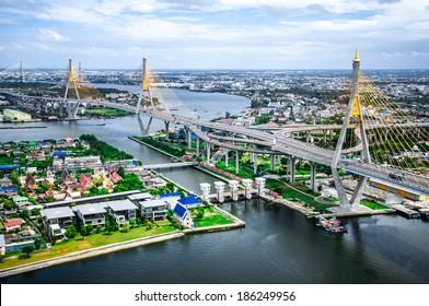 The Bhumibol Bridge