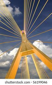 Bhumibol Bridge in Thailand