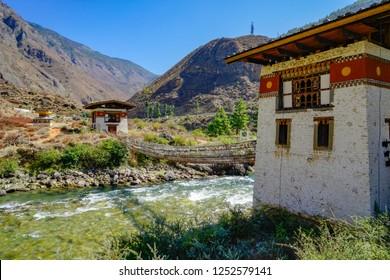 Bhutan 2018 bridge