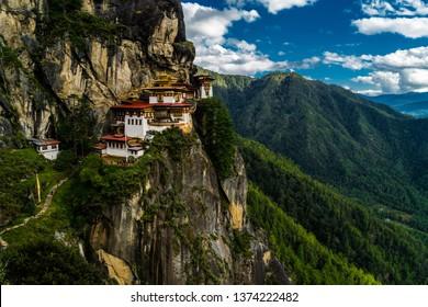 bhutan tiger's nest Paro Taktsang