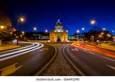 Bialystok city at Night
