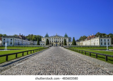 BIALYSTOK, POLAND - SEPTEMBER 9,2016:Bronitsky' palace in Bialystok