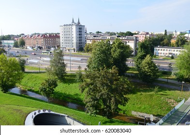 Bialystok in the summer morning, Podlasie, Poland