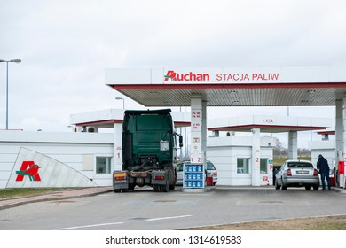 Filling Petrol Station Stock Photos Images Photography