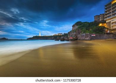 Biarritz Miramar beach