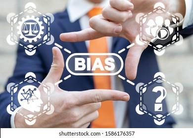 Bias Prejudice Discrimination Diversity Business Politics Employee Rights Concept.