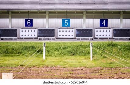 Biathlon Shooting range