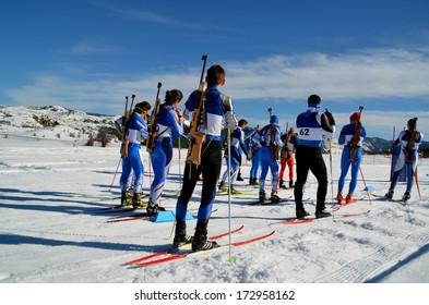 biathlon - winter sports - ski