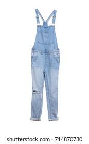 BIB jean for holded pants with shoulder