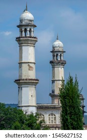 The Bibi Ka Maqbara at Aurangabad India. It was commissioned in 1660 by the Mughal emperor Aurangzeb in the memory of his first and chief wife Dilras Banu Begum.