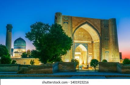 Bibi-Khanym Mosque in Samarkand, Uzbekistan.