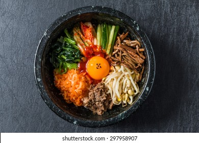 bibimbap Korean fast food
