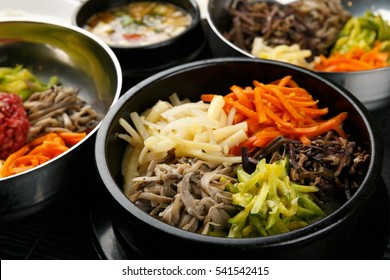 Bibimbap korean food