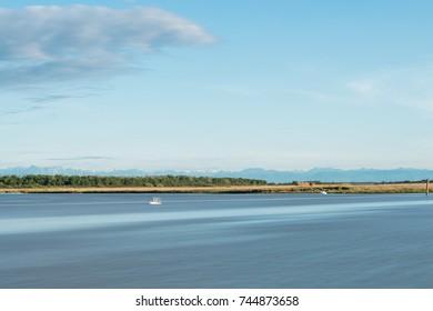 bibione lagoon landscape
