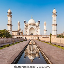 Bibi-qa-Maqbara or Bibi qa Maqbara is or the poor mans Taj in Aurangabad in India