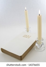 Bible and Candles