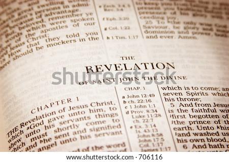 Bible Open Revelation Stock Photo (Edit Now) 706116 - Shutterstock