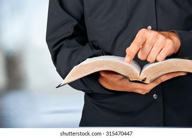 Bible Priest.
