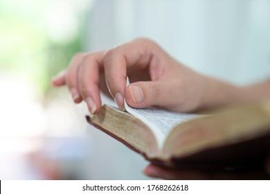 Bibel, Frauen lesen die Heilige Bibel.