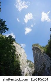 Bicaz Canyon road Gorges  Romania travelling trip