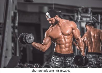 Biceps curl.