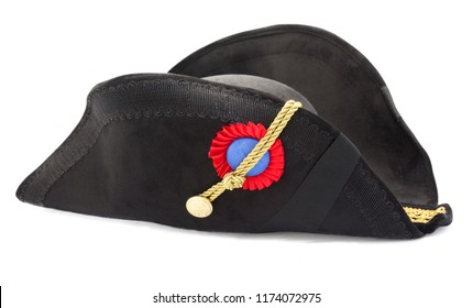The bicorne or bicorn is a historical form of hat with two-corners that was widely adopted in the 1790s as an item of uniform by European and American military and naval officers.