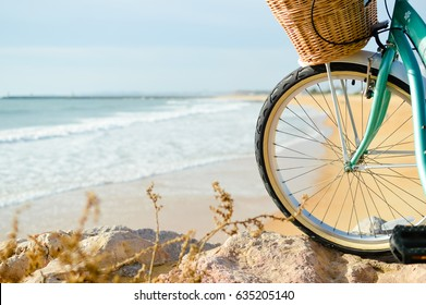 Bicycle adventure trip tour outdoors background