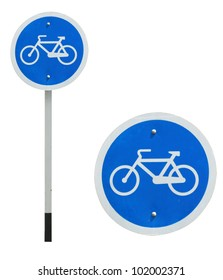 Bicycle allowed sign