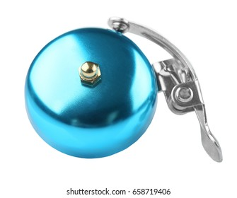 Bicycle bell on white background