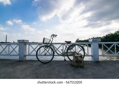 Bicycle and blue sky