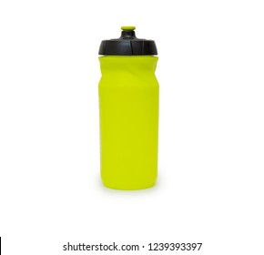 Bicycle bottle isolated on the white background