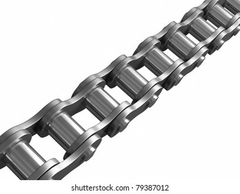 Bicycle chain with.