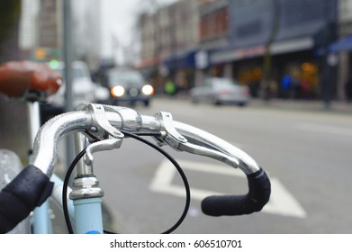 Bicycle in the city