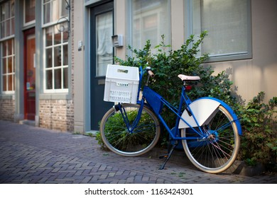 Bicycle in Dutch streets