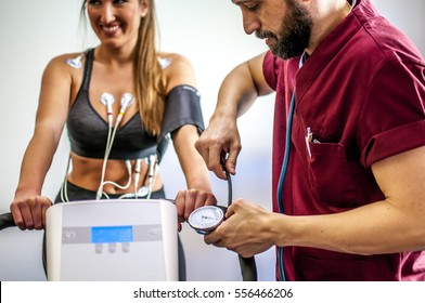 Bicycle electrocardiogram