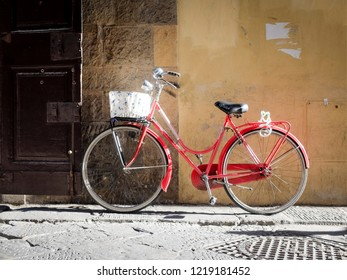 Bicycle in Florence, Tuscany, Italy