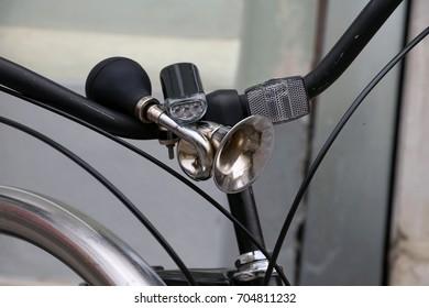 Bicycle forward head light, horn,forward light reflector