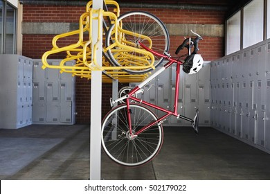 Bike Rack Images, Stock Photos & Vectors | Shutterstock