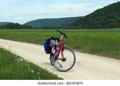Bicycle journey, Altmuhl valley, Bavaria