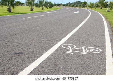 Bicycle lane For health and safety
