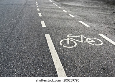 Bicycle Lanes in Park
