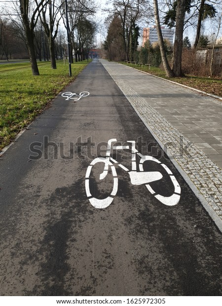 Bicycle line in the City