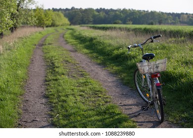 bicycle in nature
