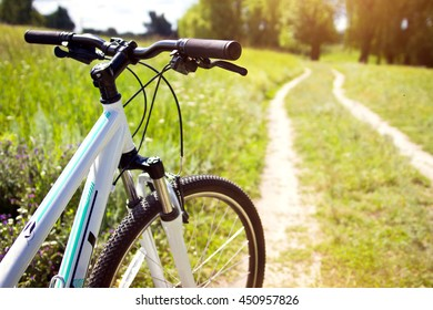 Bicycle on the road