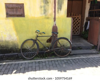 Bicycle on street
